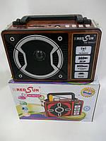 "Радиоприемник c USB/SD и аккумулятором и фонариком. ""RRedSun"" RS-9044UT"