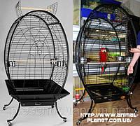 Вольер для больших попугаев и хищных птиц №1