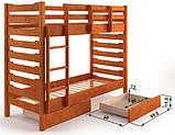 Двоярусне ліжко Троя, фото 3