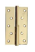 Петля стальная Gavroche gr 125*75*2.5мм B1 R g (золото)