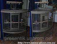 Угловой вольер с игровым стендом для средних и крупных попугаев , белок, мелких приматов, лемуров и др №2