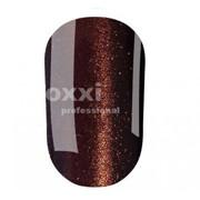 """Гель лак Oxxi """"Кошачий глаз"""" №102 (темный коричневый магнитный),8 мл"""