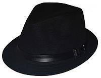Шляпа мужская Хантор коттон черный