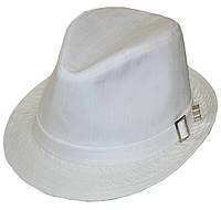 Шляпа мужская Хантор лен белый