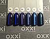 """Гель лак Oxxi """"Кошачий глаз"""" №105 (темный синий магнитый),8 мл, фото 4"""