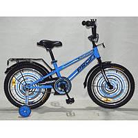 """Детский двухколесный велосипед Profi Forward Голубой 18"""" (G1874)"""