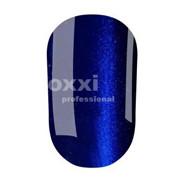 """Гель лак Oxxi """"Кошачий глаз"""" №105 (темный синий магнитый),8 мл"""