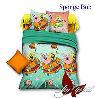 1.5-спальное белье для детей Sponge Bob