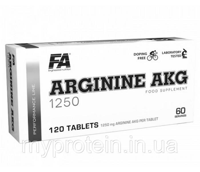 Fitness Authority Аргинин Arginine AKG 1250 (120 tab)