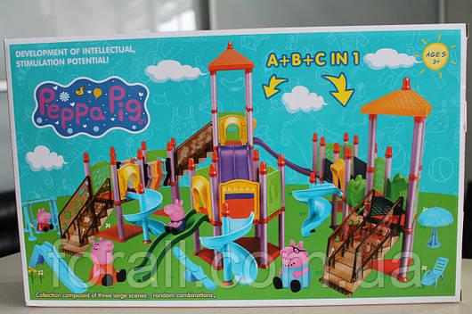 """Игровой набор свинка Пеппа Peppa Pig """"Детская площадка"""" PP №6041C"""