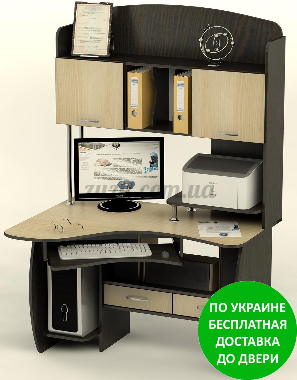 Прямой компьютерный стол ск-24.