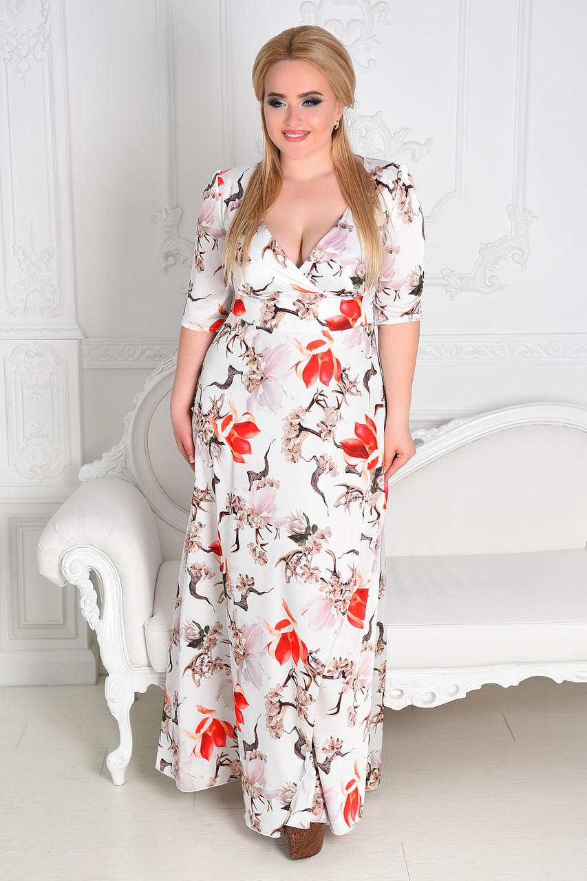 Женское вечернее платье в пол  8174.2