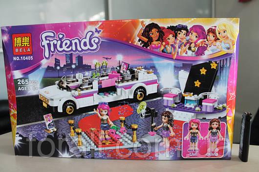 Конструктор Friends №10405 Лимузин Поп звезды