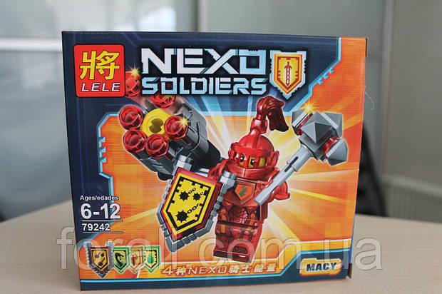"Конструктор аналог Lego Нексо найтс ""NEXO KNIGHTS"" №79242 Мейси"