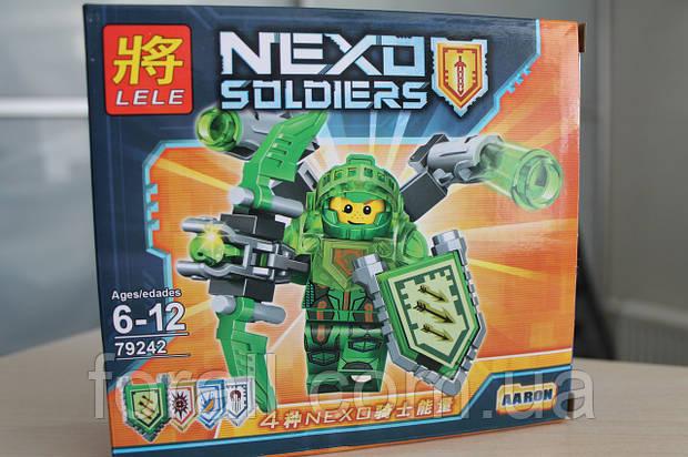"Конструктор аналог Lego Нексо Найтс ""NEXO KNIGHTS""№79242 Аарон"