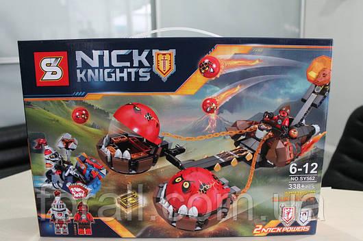"""Конструктор аналог Lego Нексо найтс """"NEXO KNIGHTS"""" №SY562 Безумная колесница Укротителя"""
