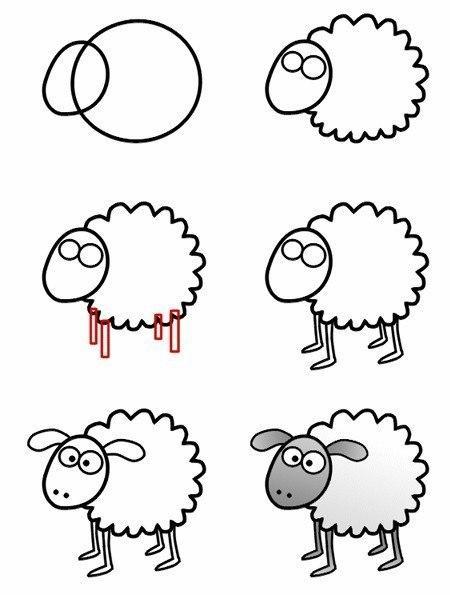 Как научится рисовать с нуля)