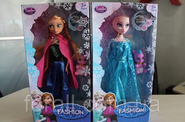 Кукла Frozen Анна, Эльза №361 музикальные