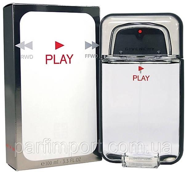 Givenchy Play pour Homme EDT 100 ml туалетная вода мужская (оригинал подлинник  Франция)