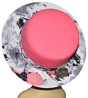 Шляпа женская Канотье аленький цветочек