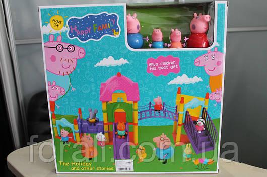 """Игровой набор свинка Пеппа Peppa Pig """"Детская площадка"""" №8835-4"""