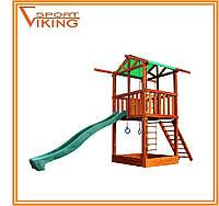 Деревянная игровая площадка для детей