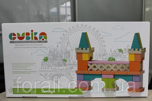 """Деревянный конструктор """"Мостик"""" Cubika 11377"""