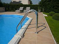 Лестница для бассейна Standart 2 ступеньки.