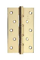 Петля стальная универсальная Gavroche gr 125*75*2.5мм B4 g (золото)