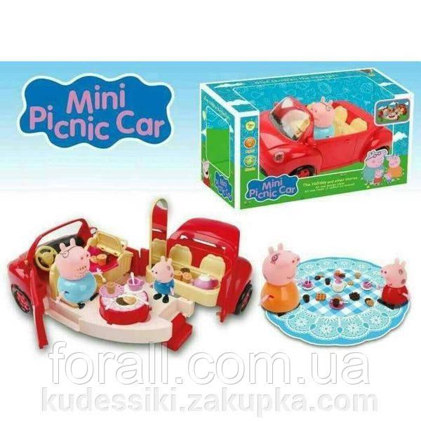 Игровой набор Автомобиль для пикника Свинка Пеппа Peppa Pig DN № 8853