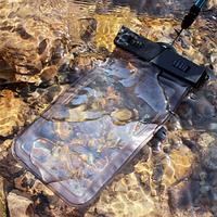 Универсальный водонепроницаемый чехол для телефонов прозрачный до 5.5дюйма, фото 1