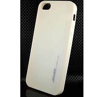 Чехол силиконовый SMTT для iPhone 5/5S персиковый