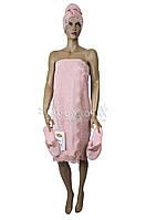 Набор для сауны (женский) № 030 Nusa 3-предмета