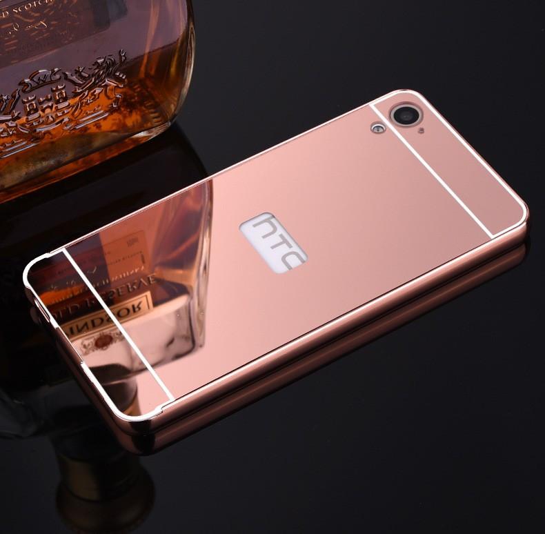 Алюминиевый чехол бампер для HTC Desire 826