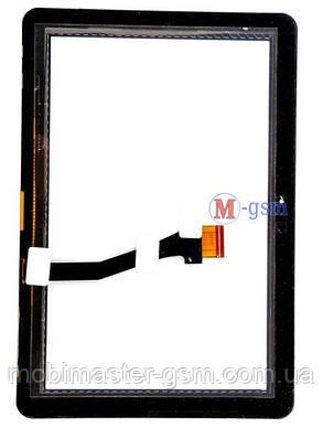 Тачскрин (сенсор) Samsung Galaxy Tab 10.1 P7100, P7500, P7510 черный, фото 2