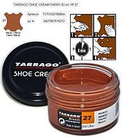 Крем для гладкой кожи Tarrago Shoe Cream, 50 мл, цв. манго