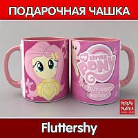Чашка Флаттершай (My Little Pony)