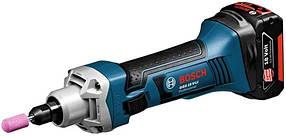Прямая шлифовальная машина Bosch GGS 18 V-LI Professional (06019B5303)