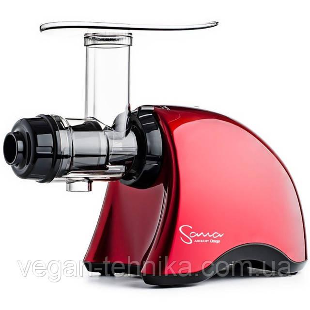 Шнековая соковыжималка Sana -707 Red