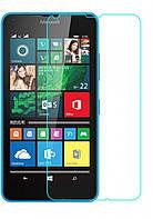 Стекло защитное 0,26 mm 2,5D 9Н NK Lumia 640