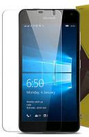 Стекло защитное 0,26 mm 2,5D 9Н NK Lumia 650