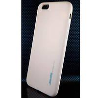 Чехол силиконовый SMTT для iPhone 6/6S персиковый