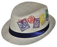Шляпа детская челентанка вышивка марки канва