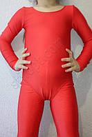 Купальник гимнастический детский бифлекс красный, фото 1