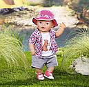 Одежда куклы Беби Борн комплект одежды для пикника Baby Born Zapf Creation 823767, фото 4
