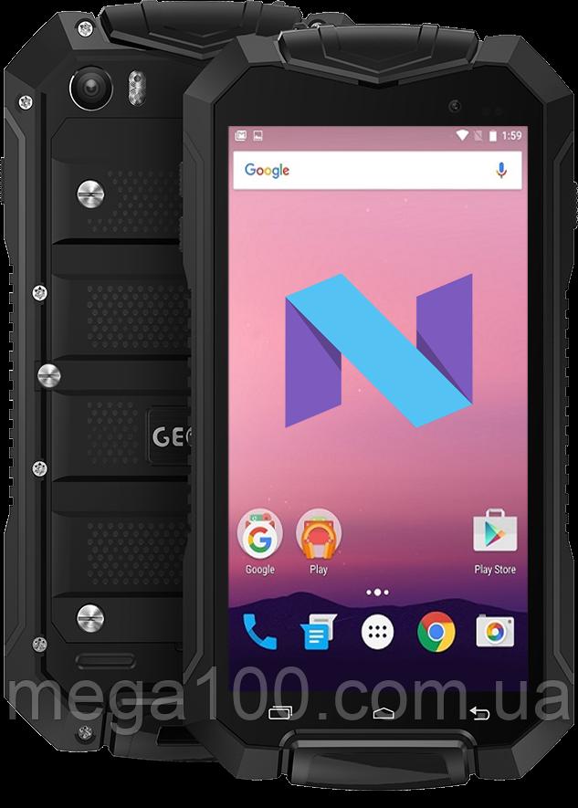 """Смартфон Geotel A1 черный (""""4,5; памяти 1/8; 3400 мАч, android 7.0)"""