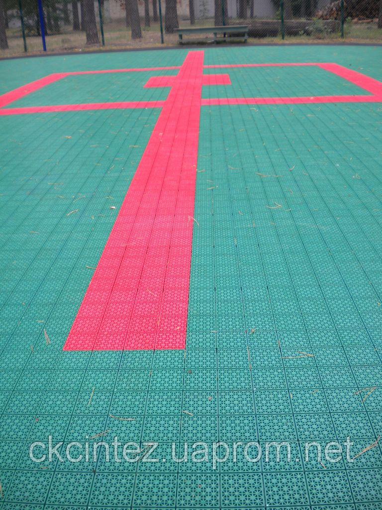 Модульное покрытие для спортивных площадок 5