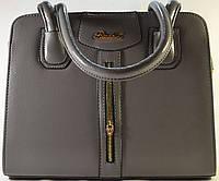 Серая каркасная сумка RIADA.L 625
