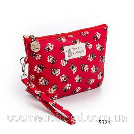 Косметичка женская для сумки NATURAL STYLE Hand Made с принтом 532h 21*13*6,5 см, фото 2