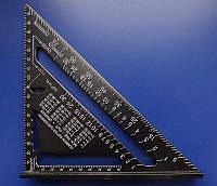 Угольник Свенсона метрический транспортир Свэнсона инструмент кровельщика угол Свэнсон Swanson